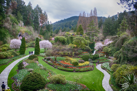 A wonderful sneak preview into the Butchart Gardens. <br>Vancouver Island, British Columbia, Canada, 2013 by Lennart Wörmer <br>#16