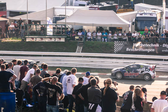 Lots of visitors for the Rallycross Championshop! <br>Estering near Buxtehude, Germany, 2014 by Lennart Wörmer <br>#18