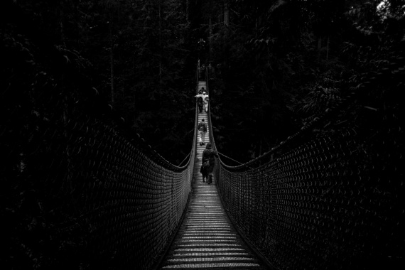 The Lynn Canyon Park offers a variety of things to do... You can either choose to run on trails, watch the river or to visit the suspension bridge. Highly recommended!  <br>Lynn Canyon Park, North Vancouver, British Columbia, Canada, 2014 by Lennart Wörmer <br>#39